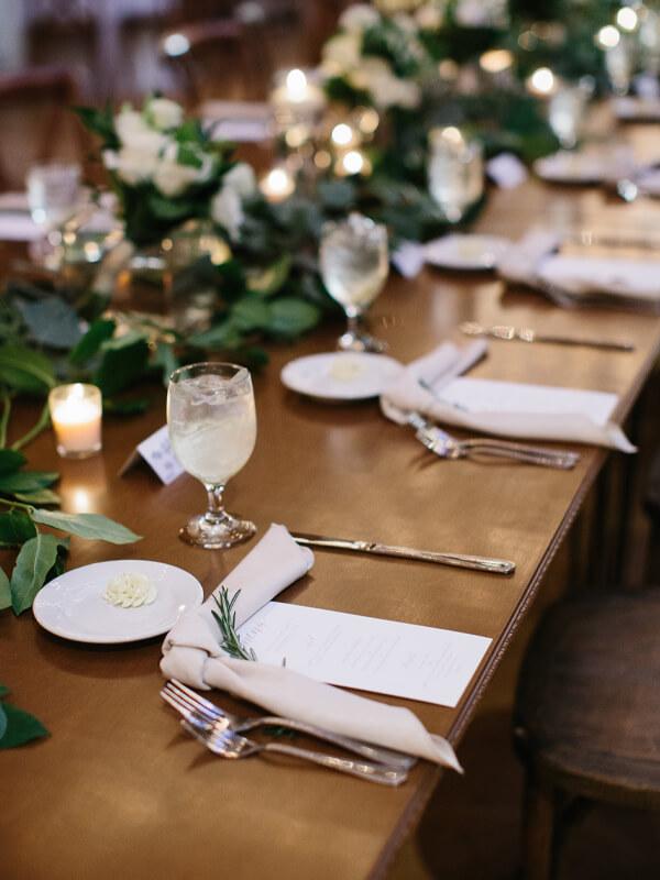 Plated Wedding