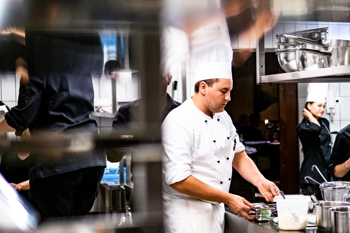 Fotografie vom Küchenteam