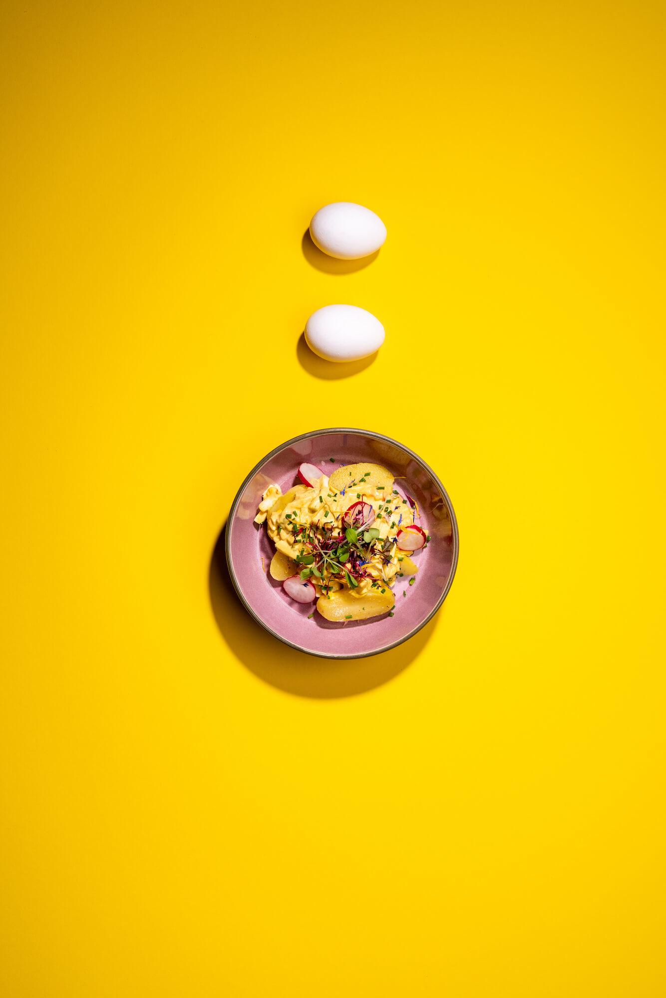 Food Fotografie für «Die Hühnerei»