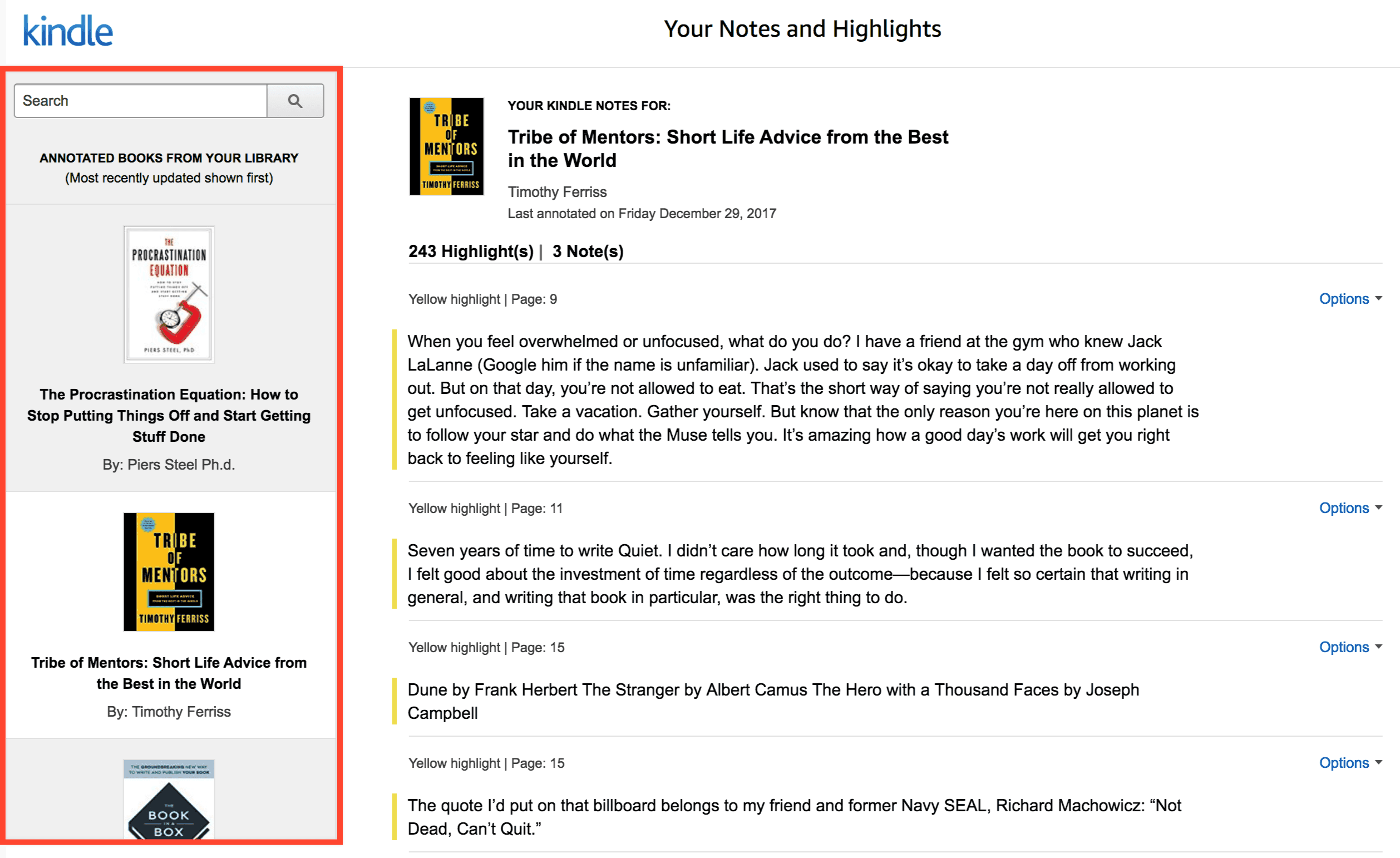 How to copy your Kindle Notes & Highlights in Evernote