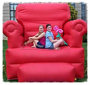 This Giant Inflatable Chair makes a great photo opportunity at your special event.