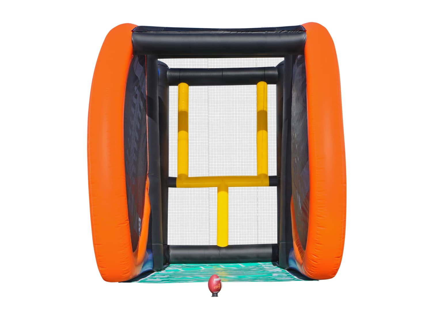 Test your Football field goal kicking skills with this fun and addicting interactive sports game. 22' l x 16' w x 18' h.