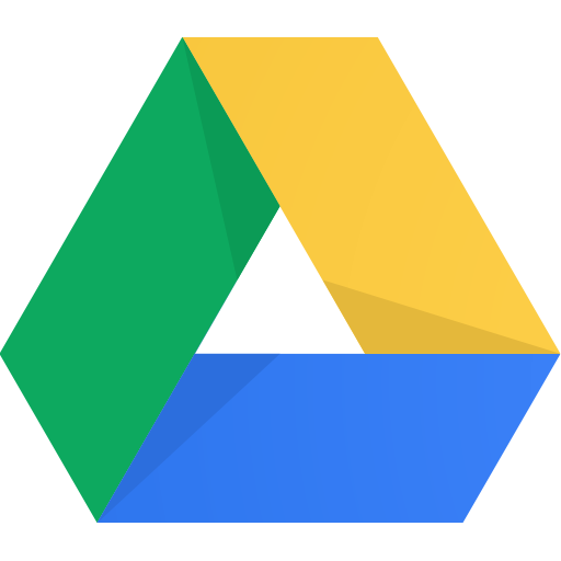 Logo of Google Drive, used by The Digital Collective for managing brand assets.