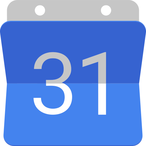 Logo of Google Calendar, used by The Digital Collective for managing time.