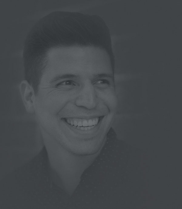 Portrait of Chris Arias, partner at The Digital Collective