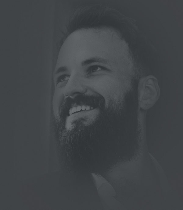 Portrait of Vitaliy Gnezdilov, partner at The Digital Collective