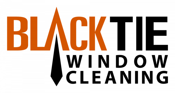 black tie window cleaning logo