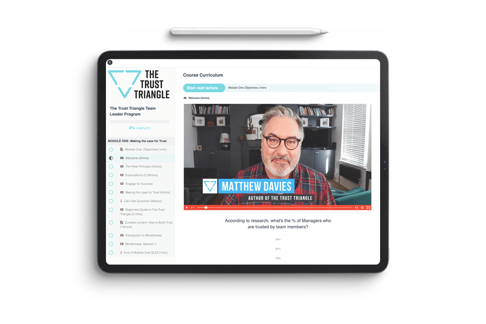 The Trust Triangle Online Course