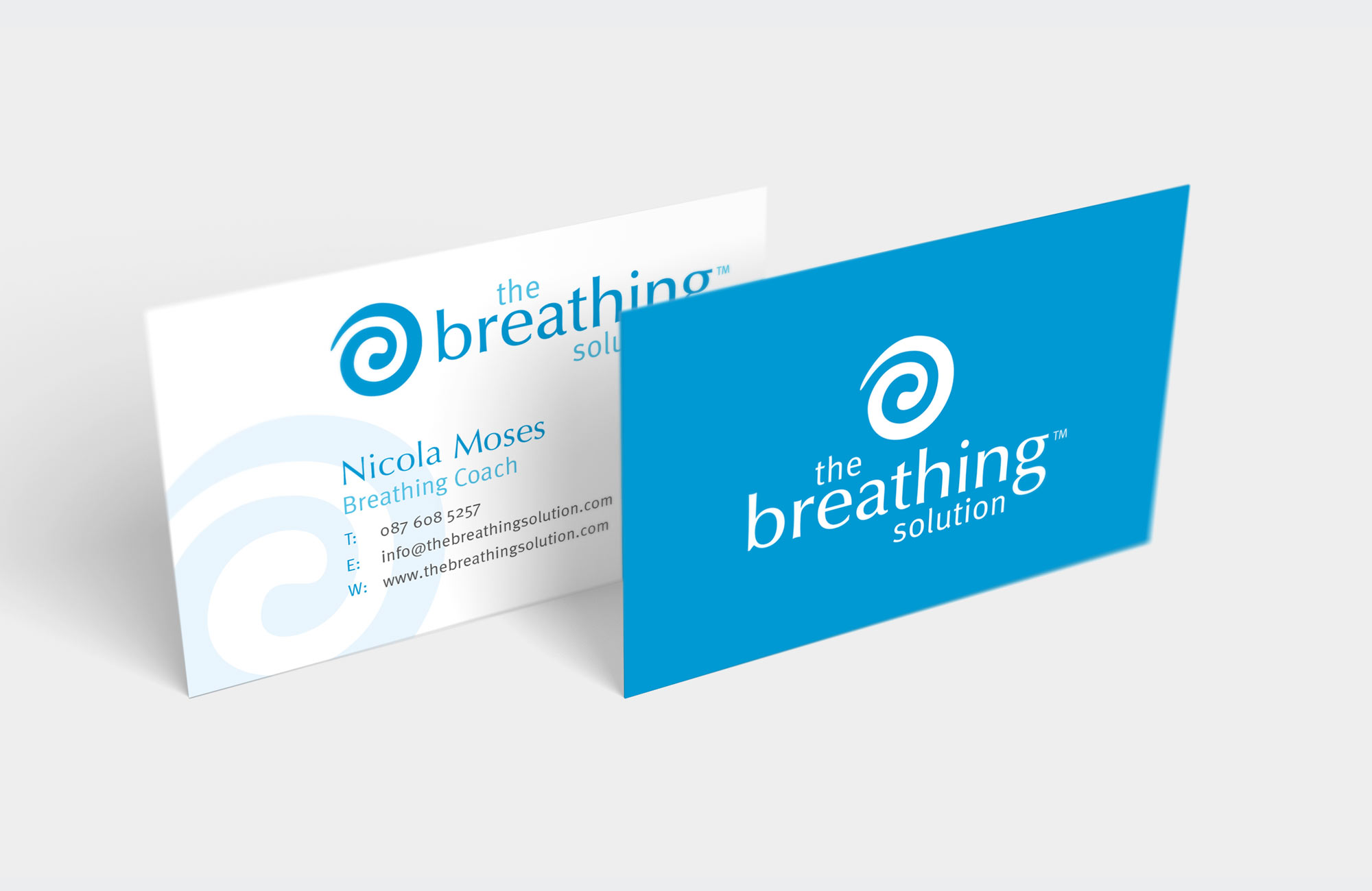 The Breathing Solution - Business Cards