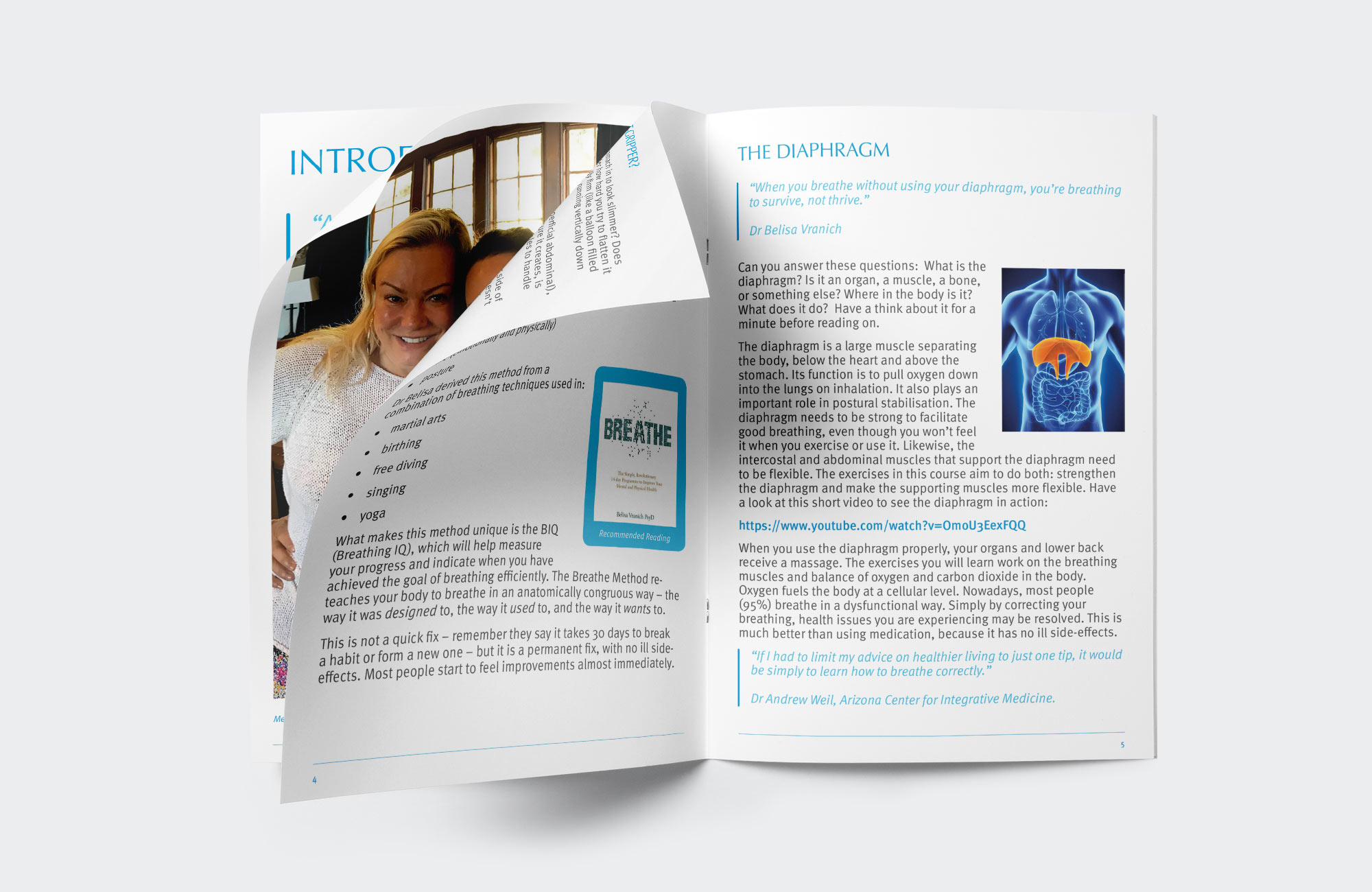 The Breathing Solution - Website