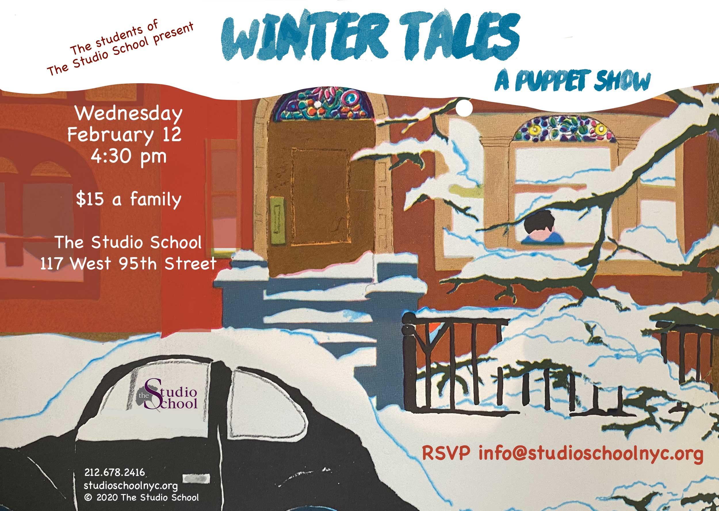 Winter Tales, A Puppet show