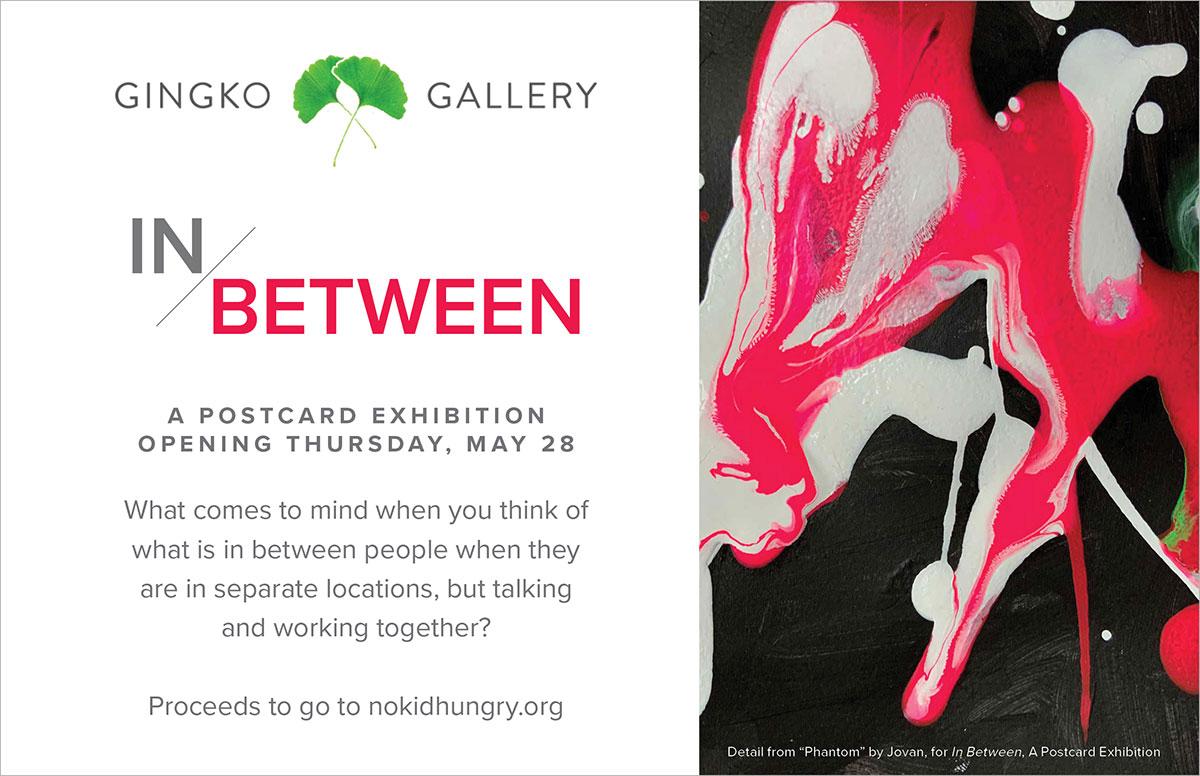 In Between: A Postcard Exhibition