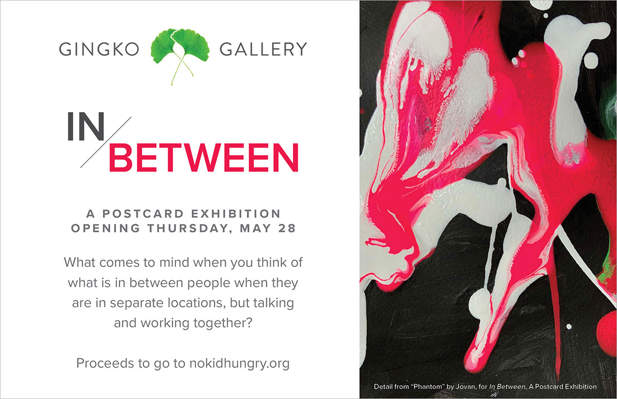 In Between: A Postcard Exhibition