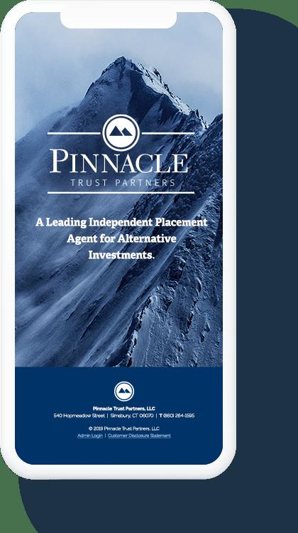 Pinnacle Trust Partners Mobile Screen