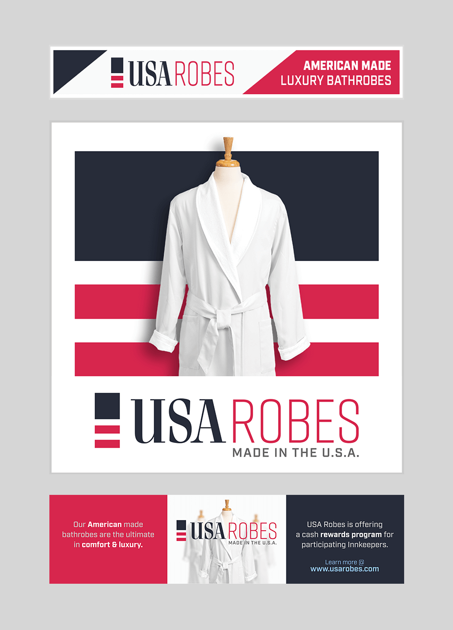 USA Robes Web Ads