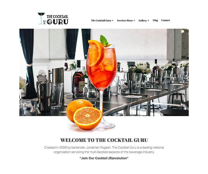 Cocktail Guru Screen