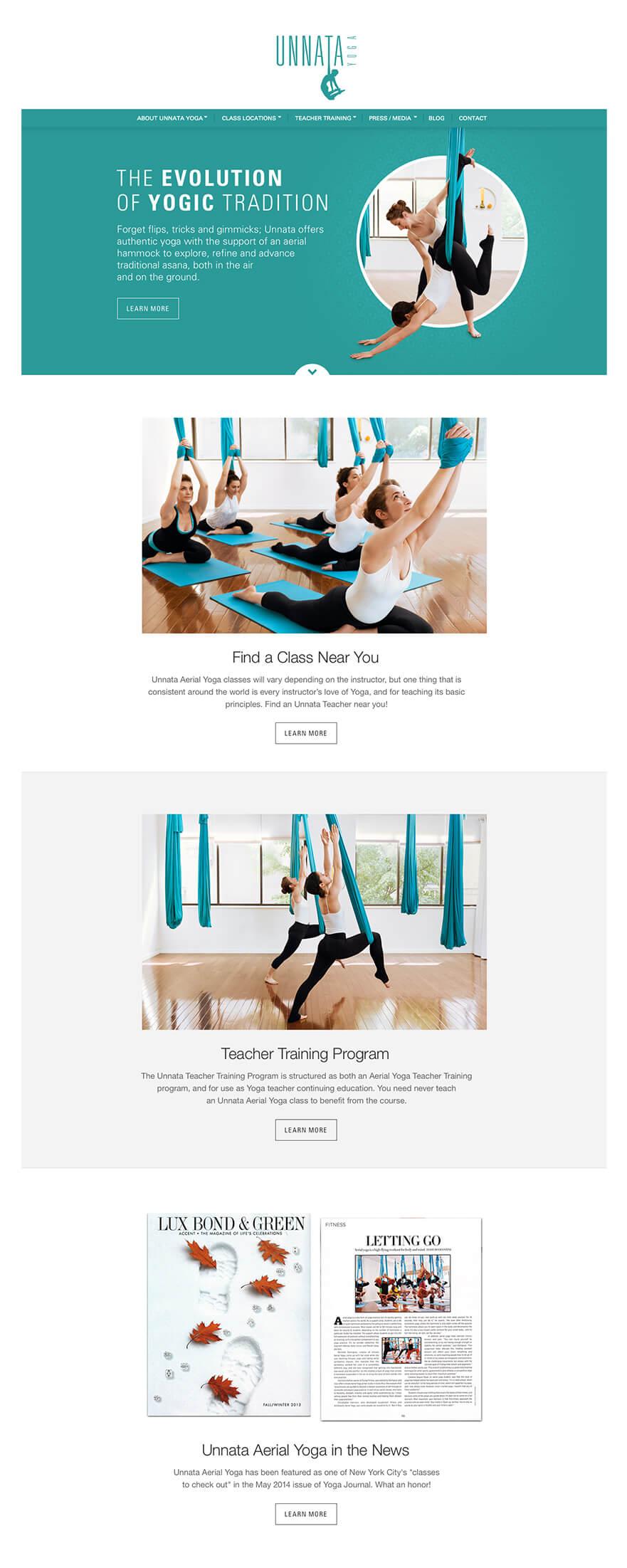 Unnata Yoga Screen