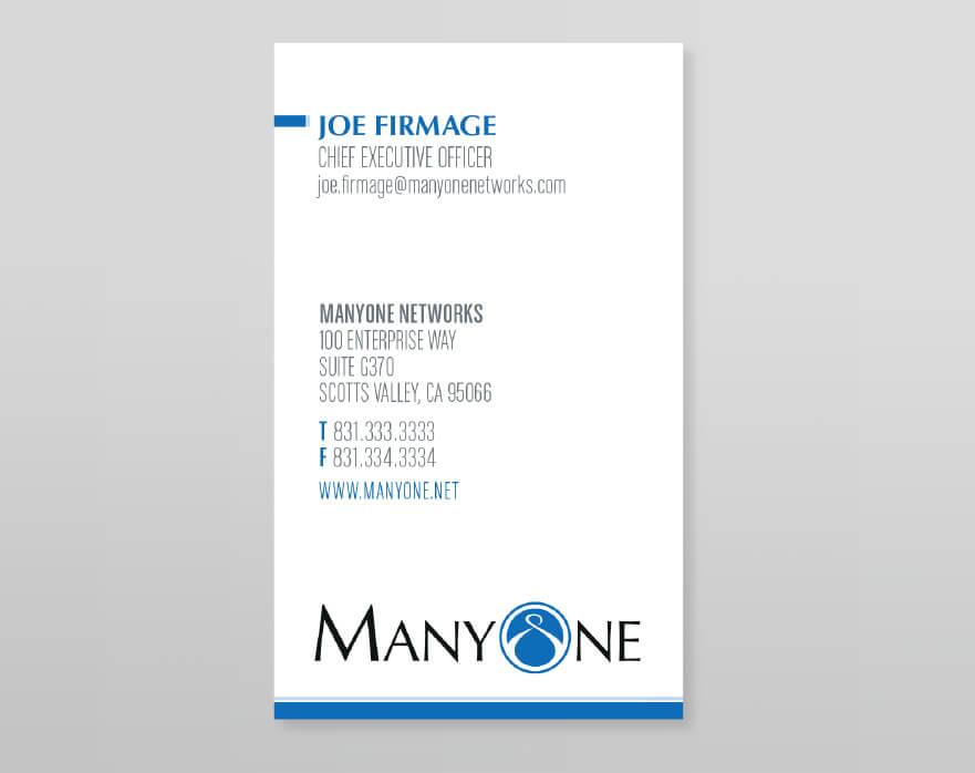 ManyOne Business Card