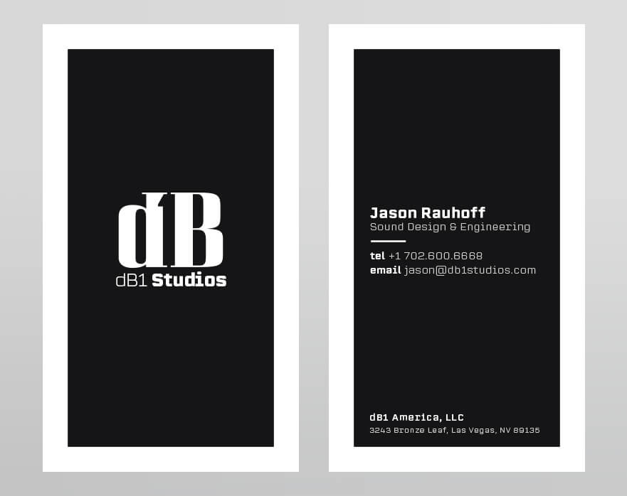 dB1 Business Card