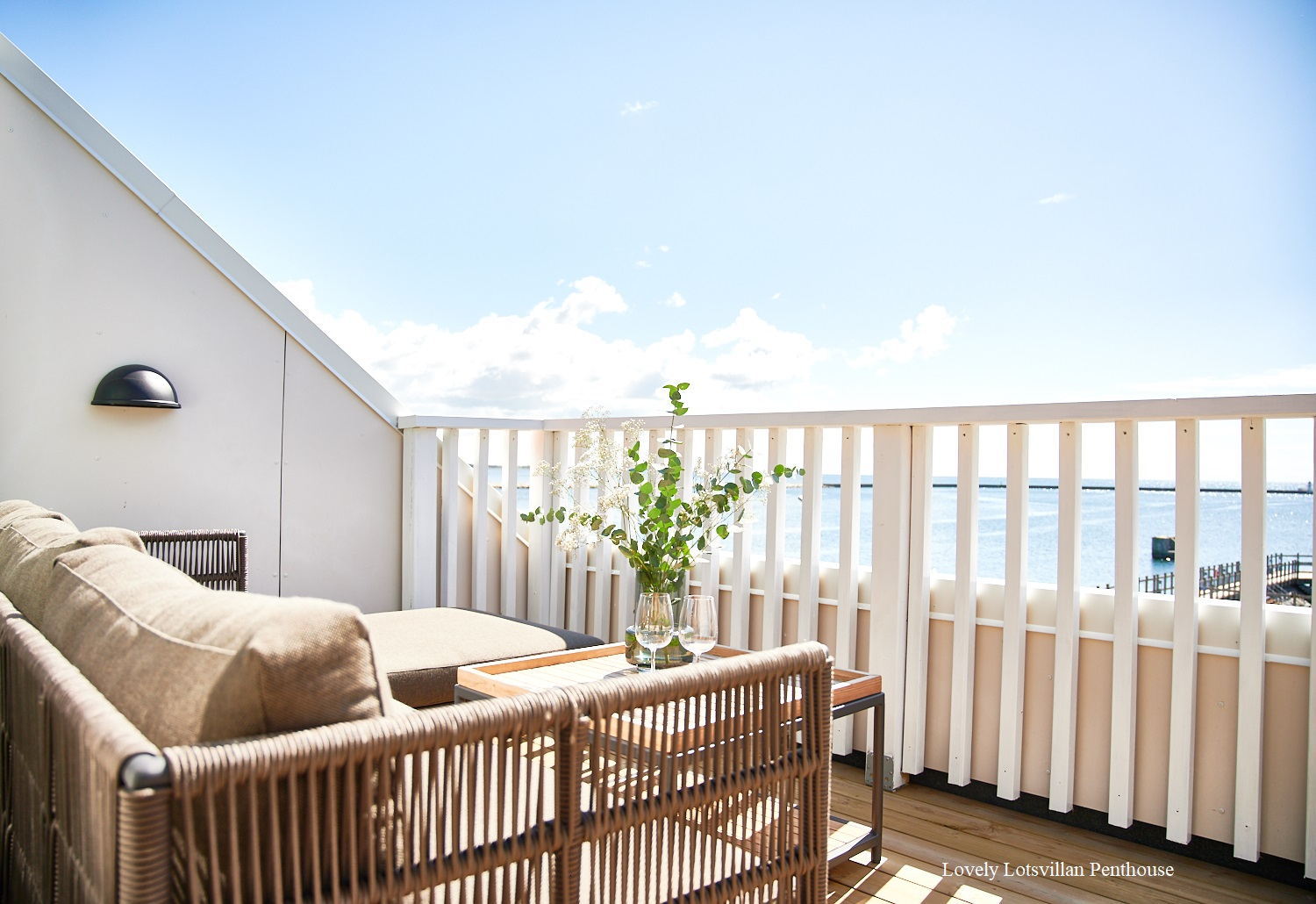 Lovely Lotsvillan Penthouse Terrace