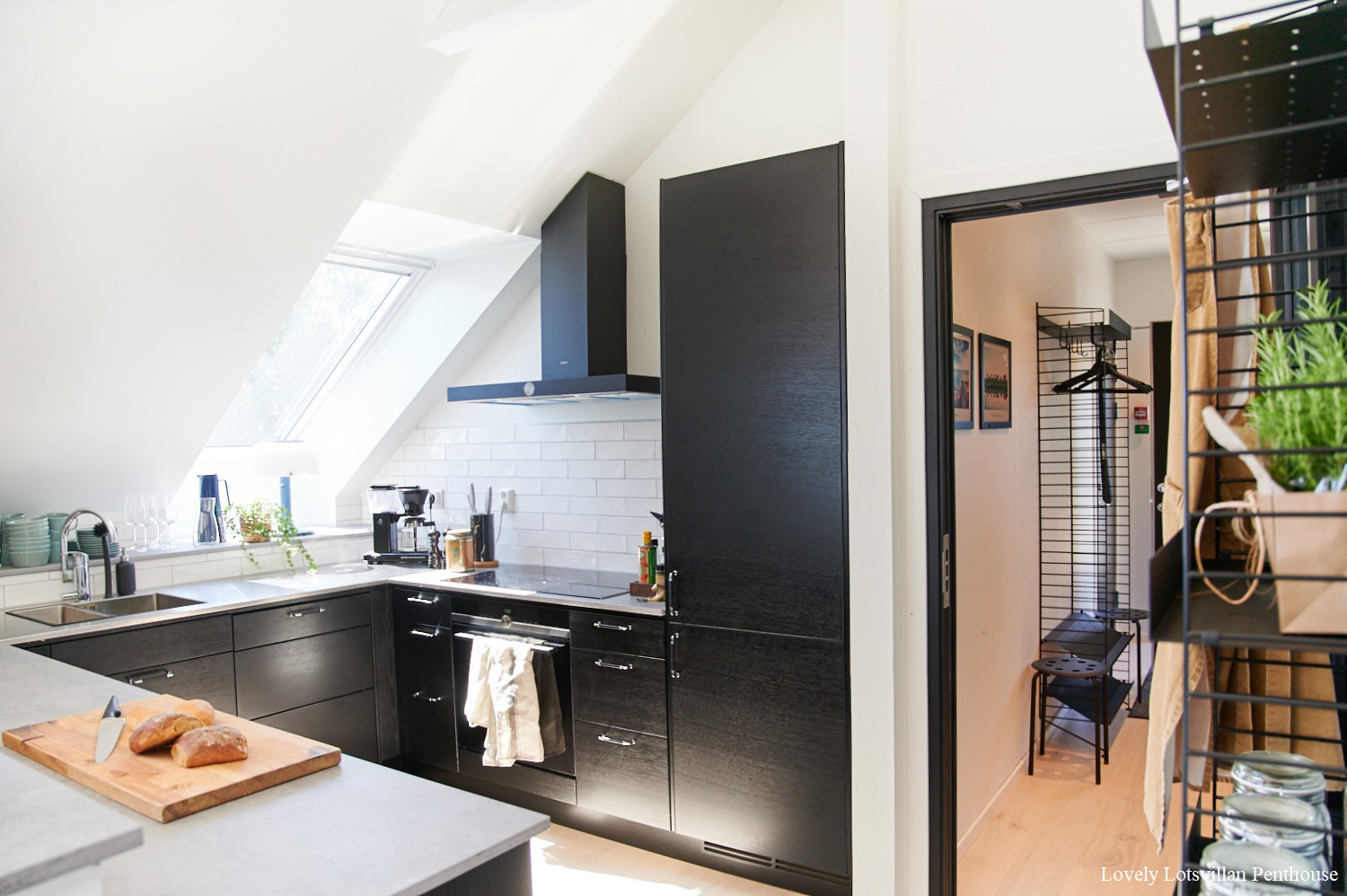 Lovely Lotsvillan Penthouse-kitchen