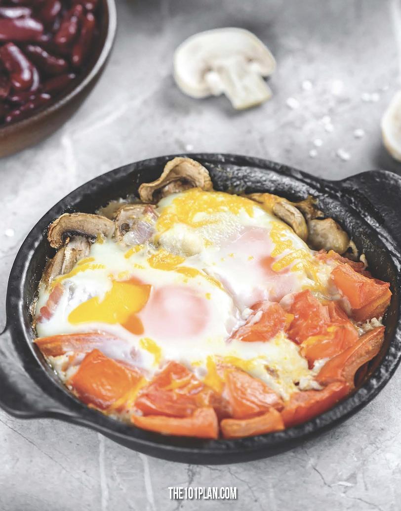 Healthy Full English Breakfast