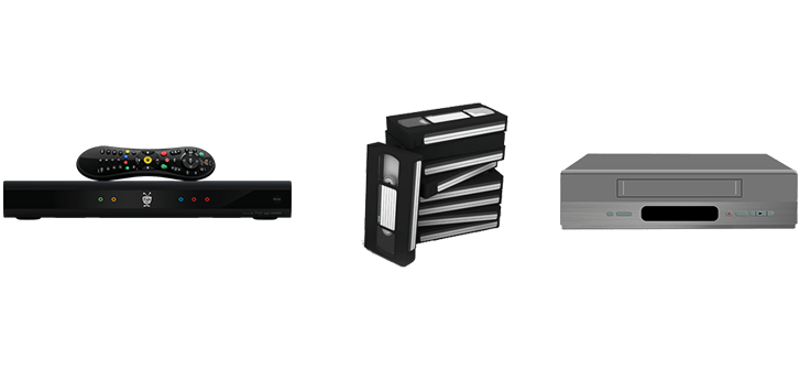SnapStream replaces VCRs and VHS tapes