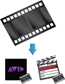 Cluster TV to import to video editing suites