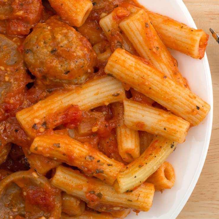 Spaghetti or Rigatoni