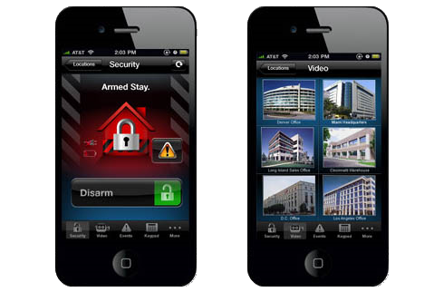 Business Security Phone App