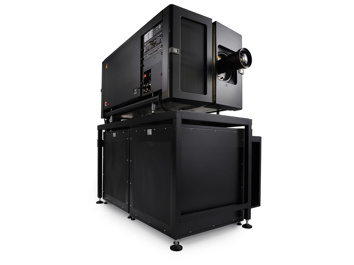 digital cinema projector installation