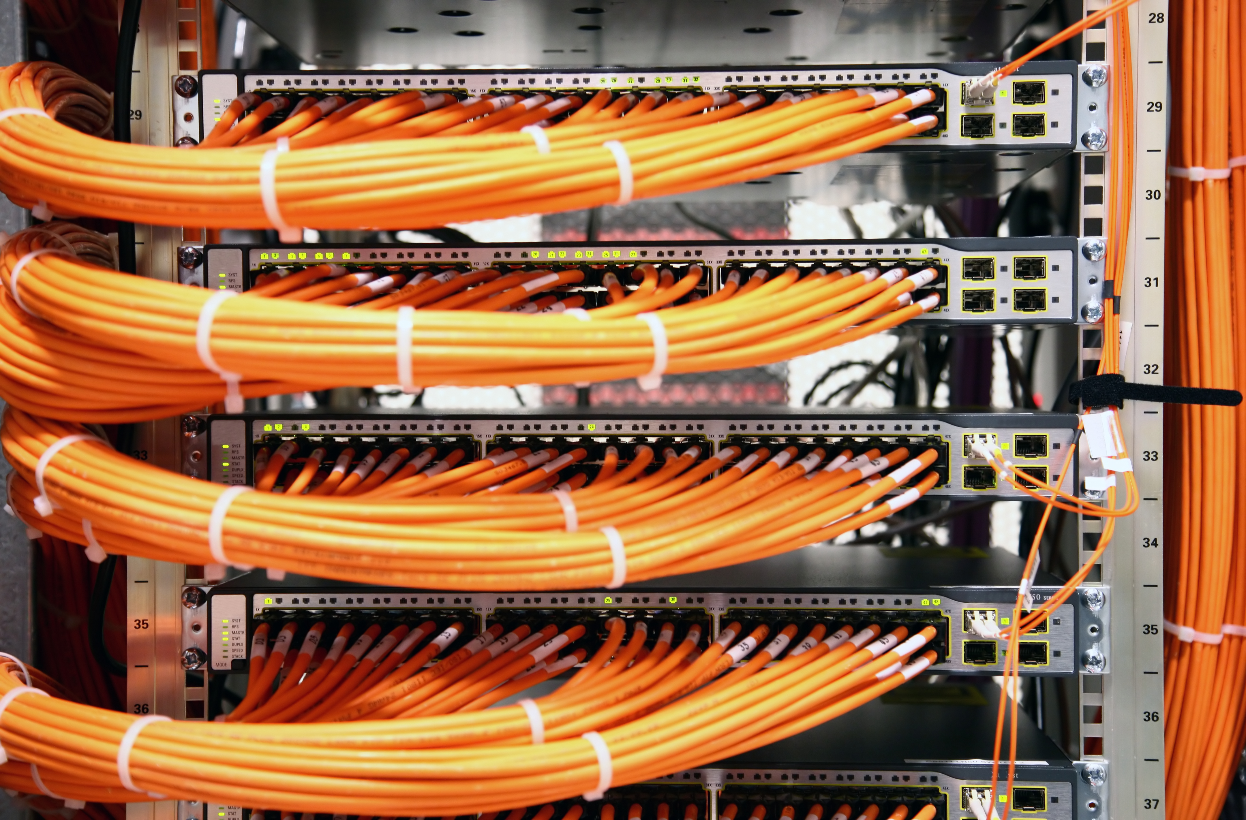 Rack Cable Wiring