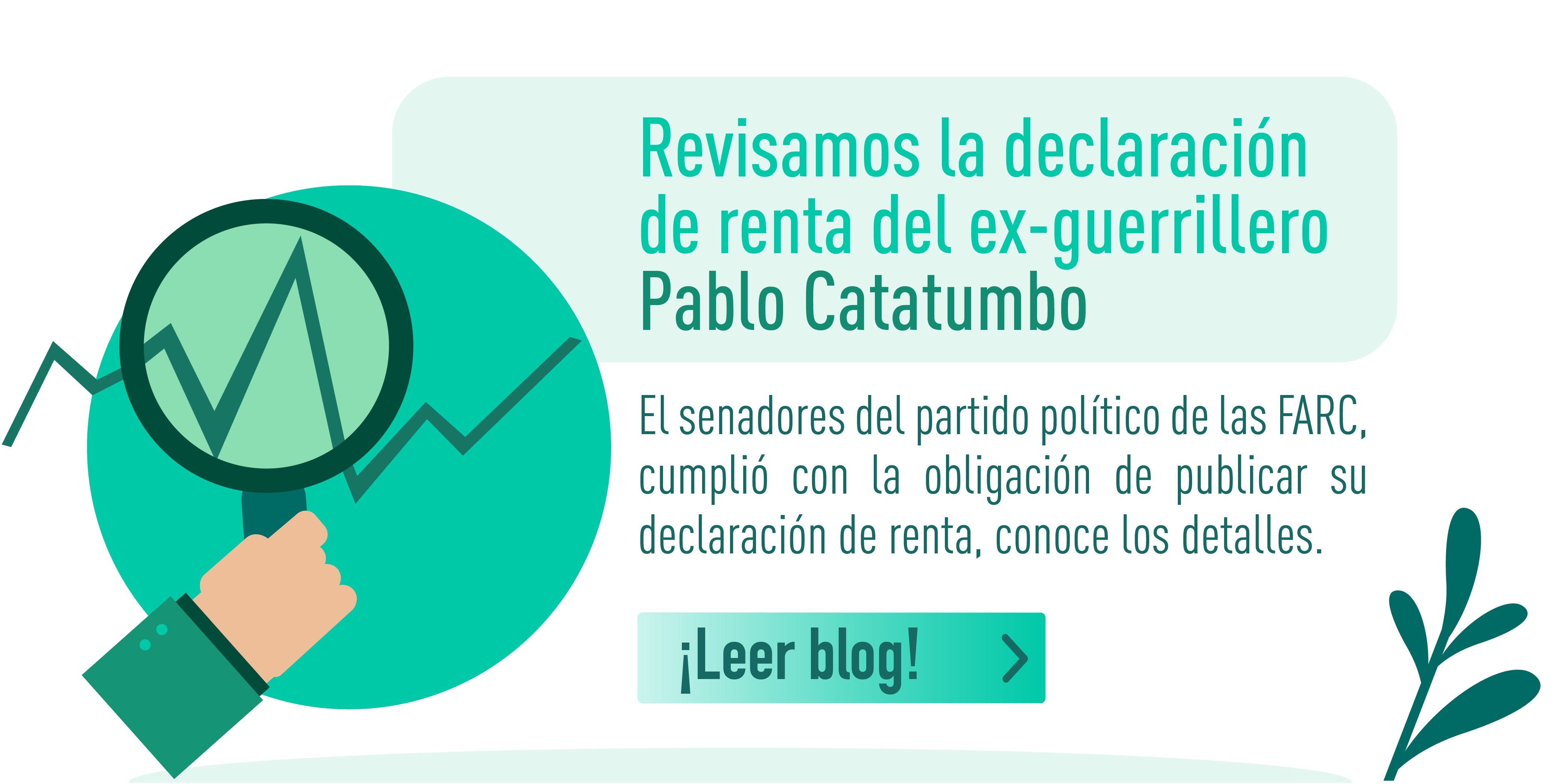 Revisamos la declaración de renta del ex-guerrillero Pablo Catatumbo: te contamos lo que encontramos