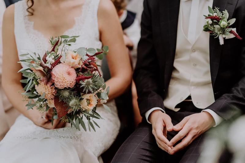 Brautstrauß & Anstecker