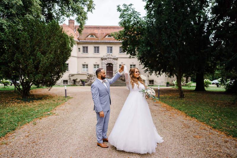 Brautpaar Schloss Kartzow