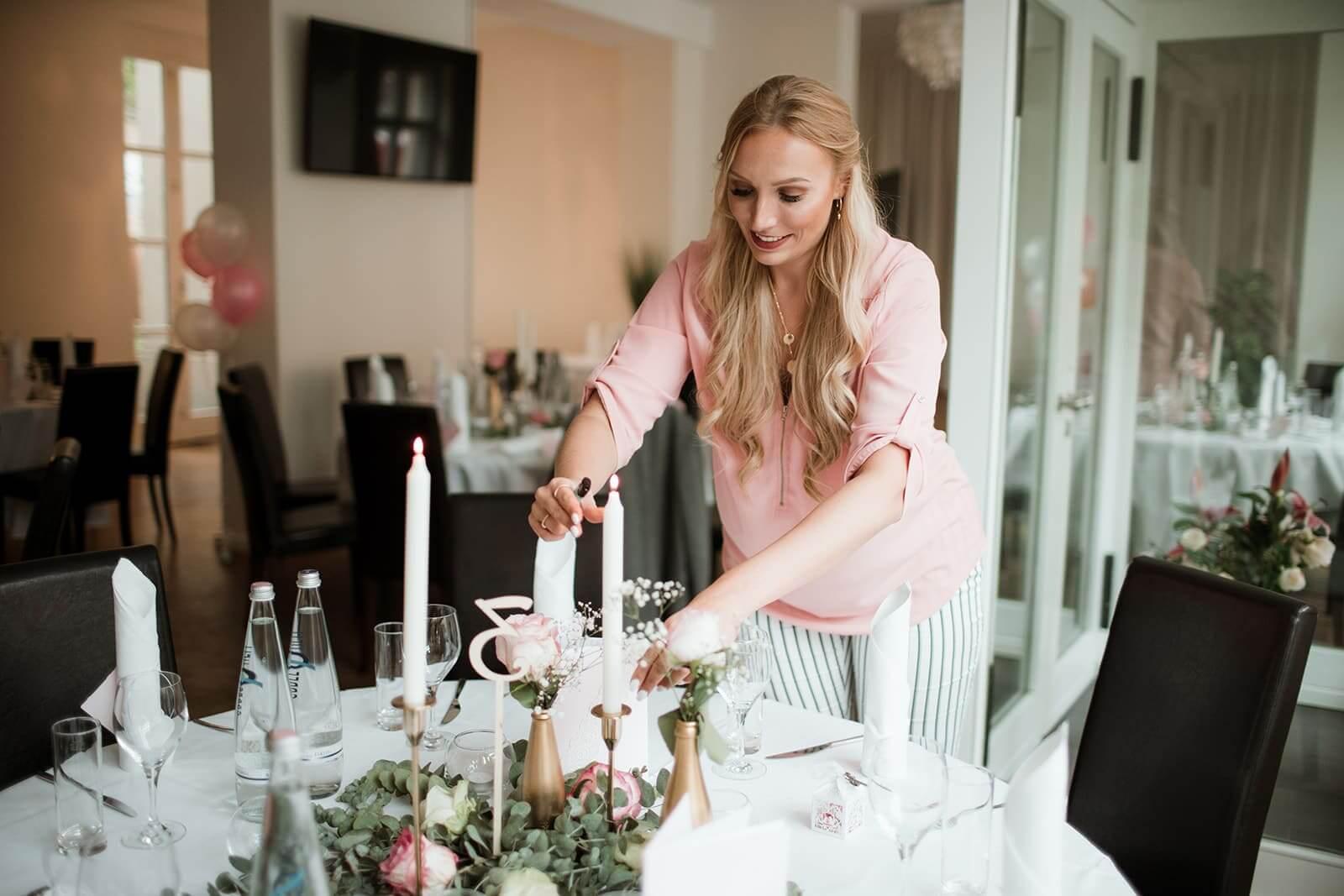 Hochzeit dekorieren
