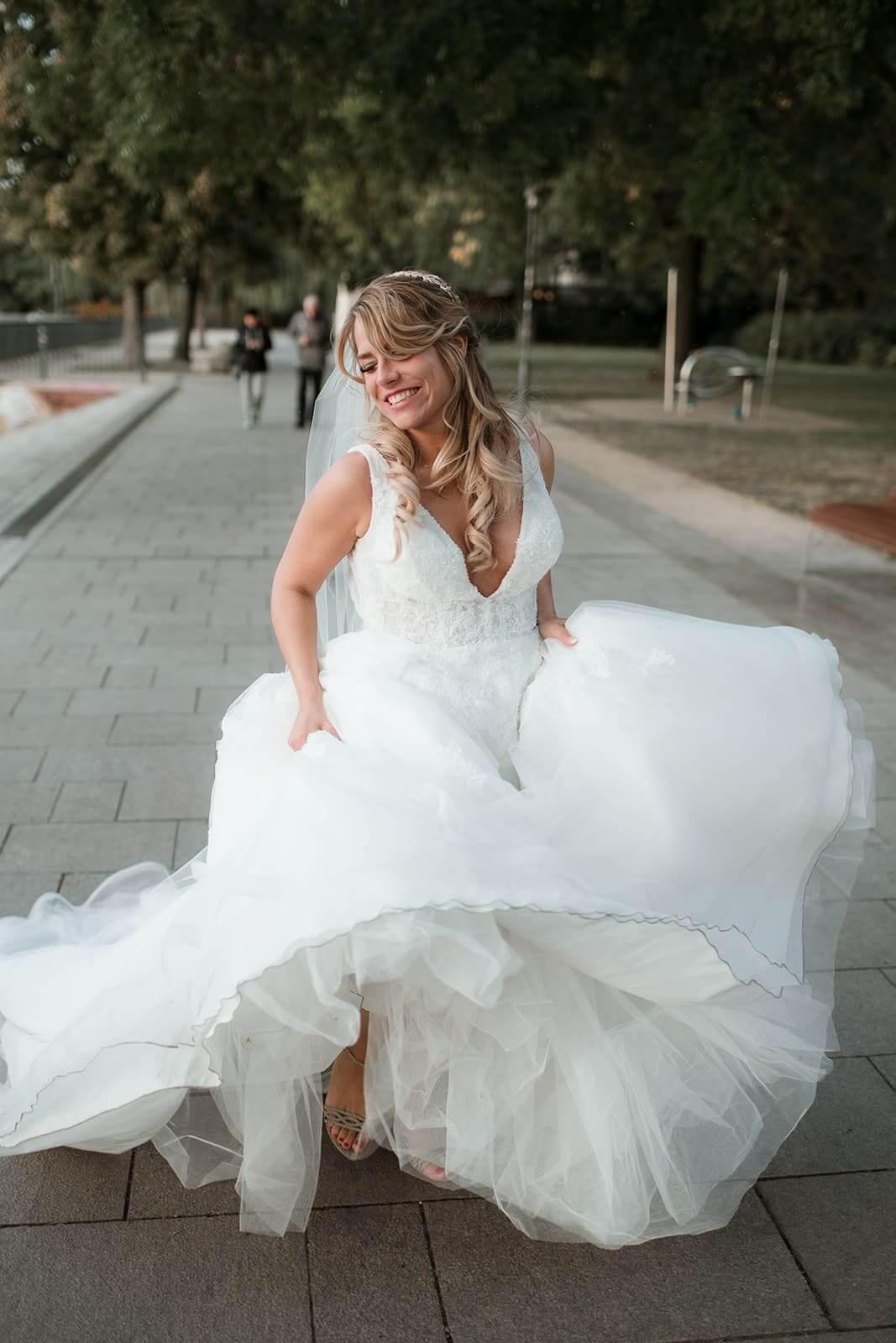 Rennende Braut