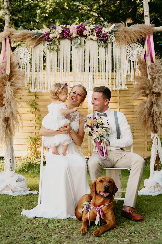 Familie Hochzeit