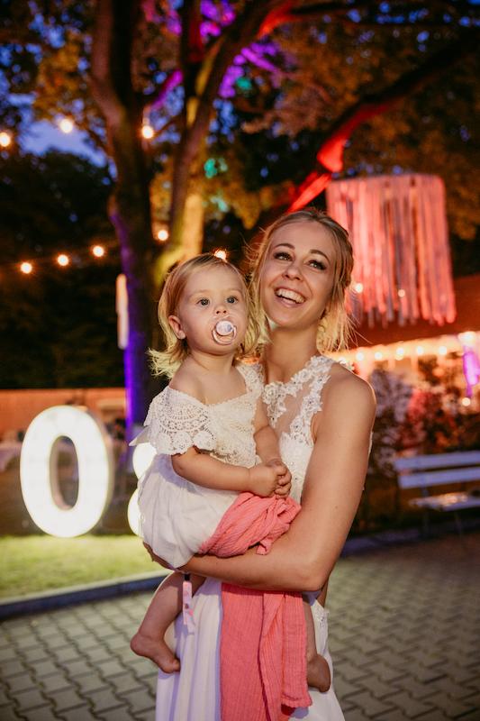 Bride & Child