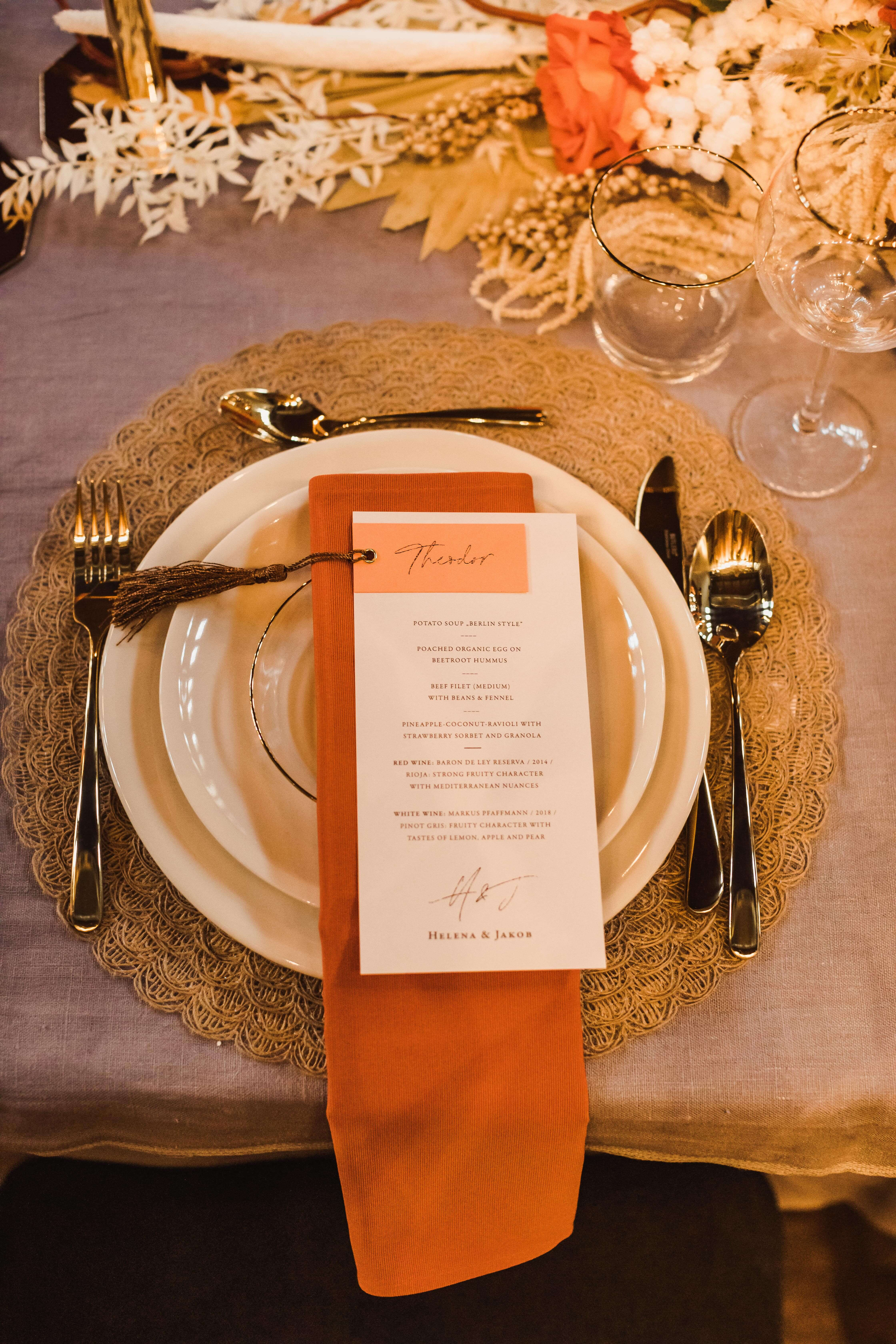 Wedding Table - Papeterie