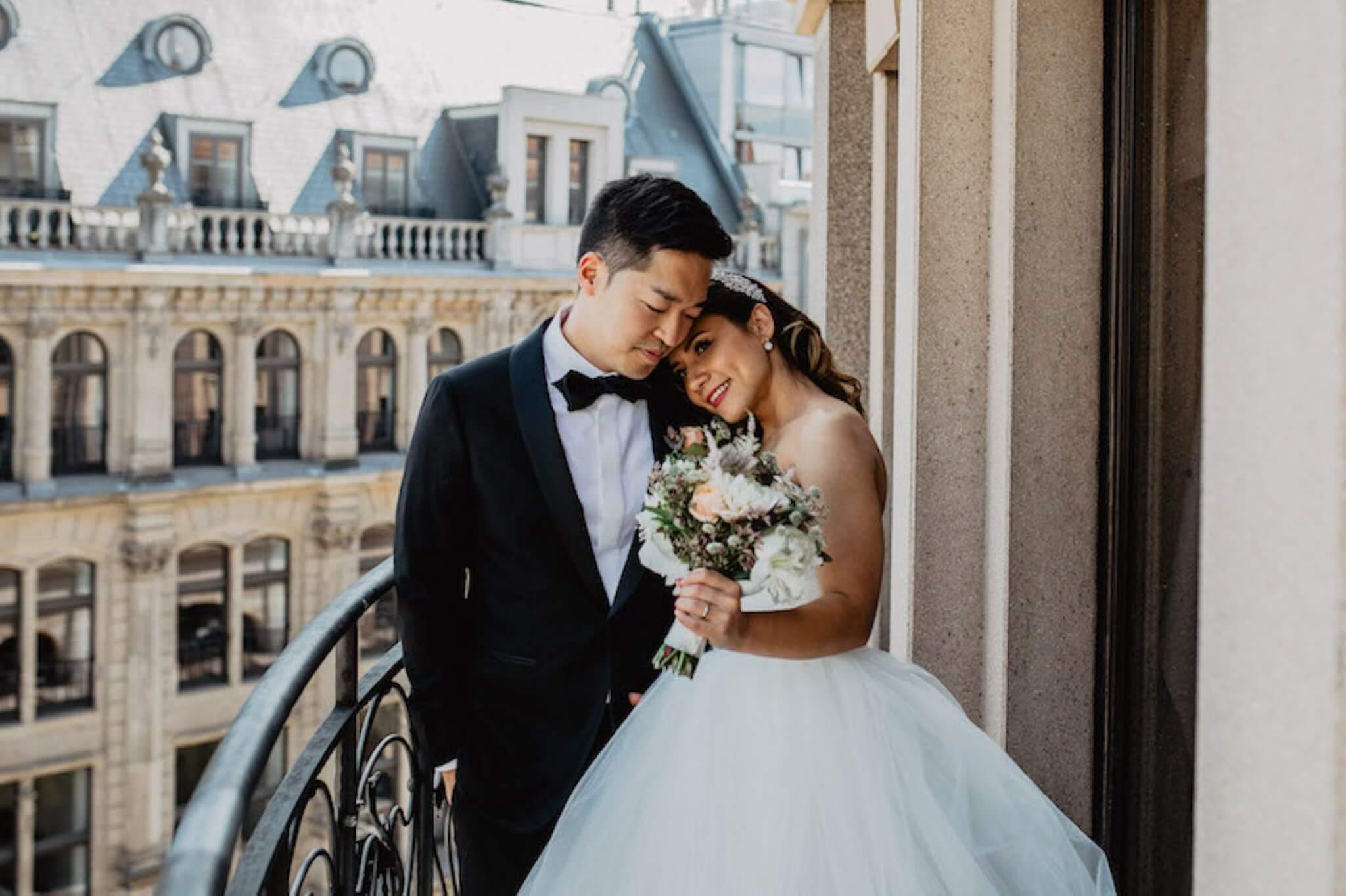 Koreanische Hochzeit in Berlin-Friedrichshain in einer alten Turnhalle