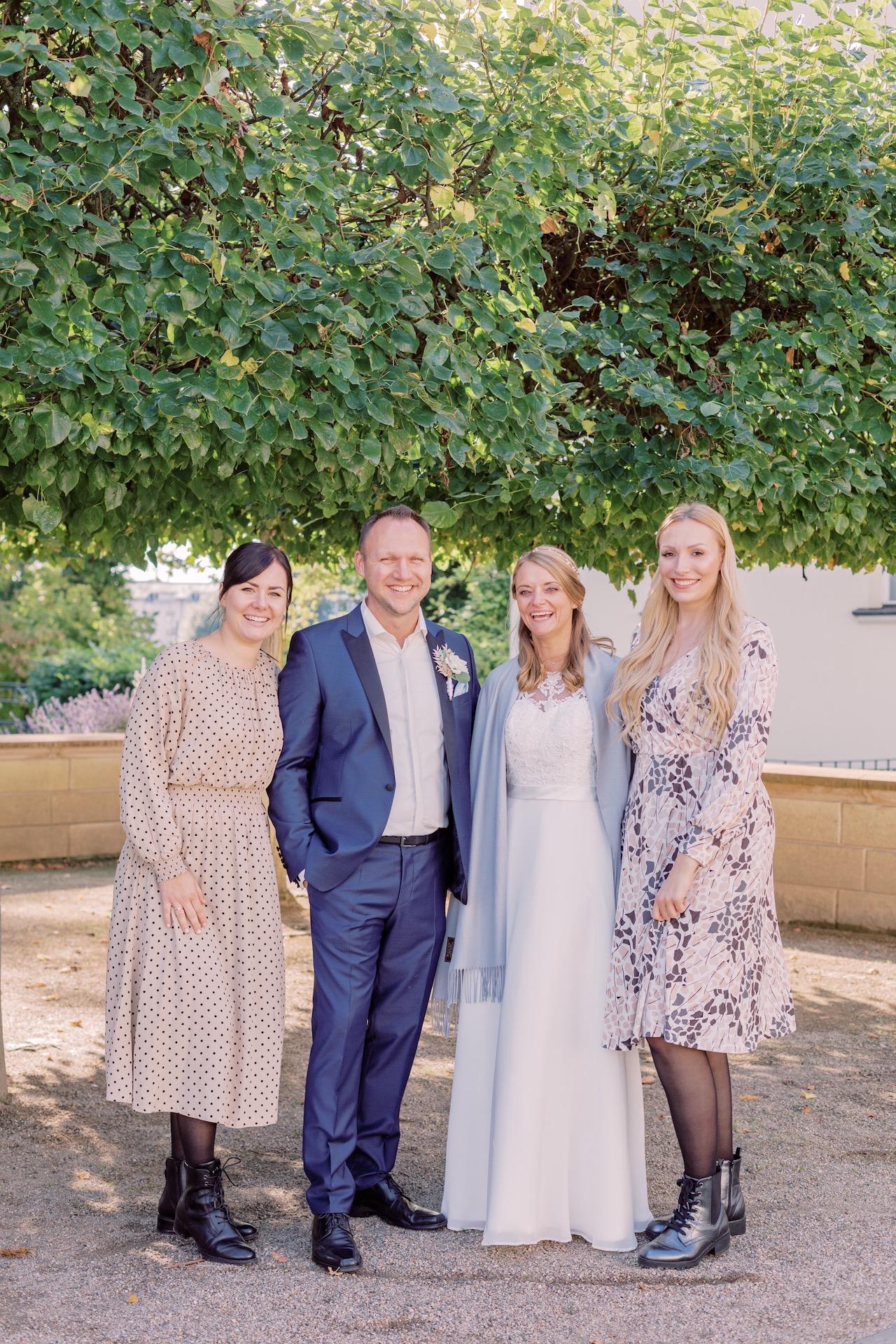 Geheime Mini-Hochzeit zu Zweit