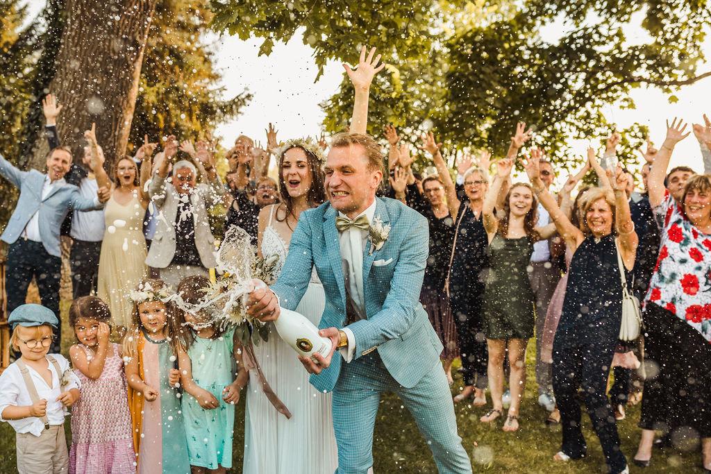 Greenery Wedding Boho-Hochzeit