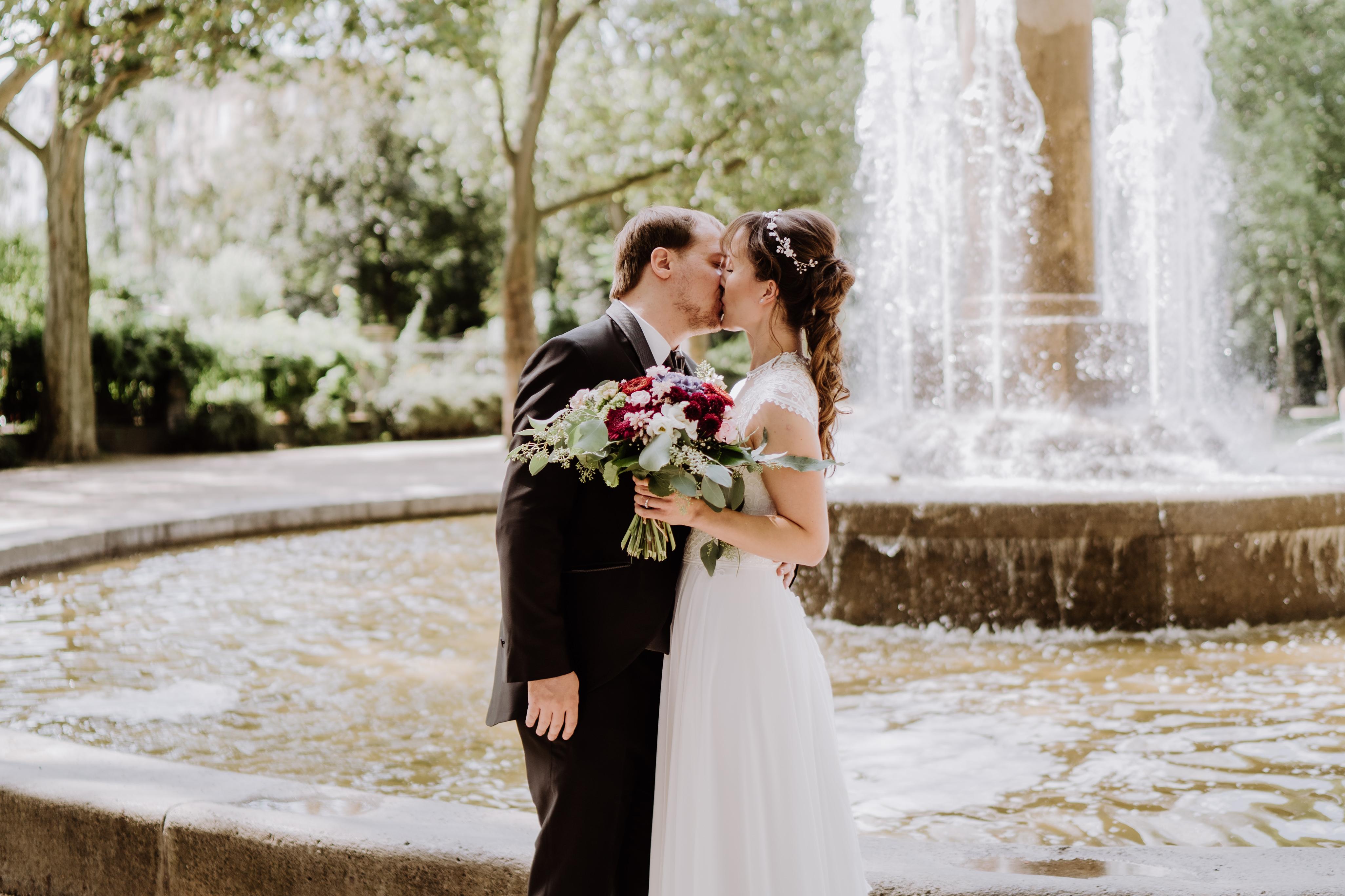 Romantische Hochzeit am Wasser in Berlin Köpenick