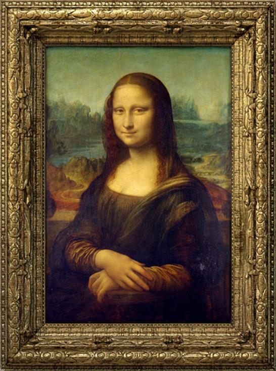Το πορτρέτο φιλοτεχνήθηκε στη Φλωρεντία γύρω στα 1503 από τον Λεονάρντο Ντα Βίντσι και εικονίζει τη Λίζα Γκεραρντίνι, τη σύζυγο του Φλωρεντινού εμπόρου Φραντσέσκο ντελ Τζοκόντο.