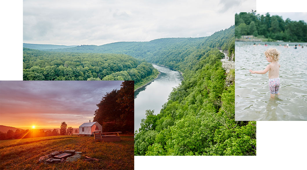 Tentrr signature private camping & glamping sites in New York.
