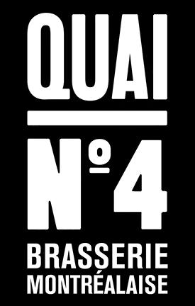 Logo Restaurant Quai No.4 Rosemeont-Montreal