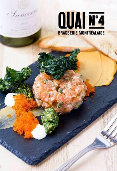 Meilleur Tartare de saumon à Montréal