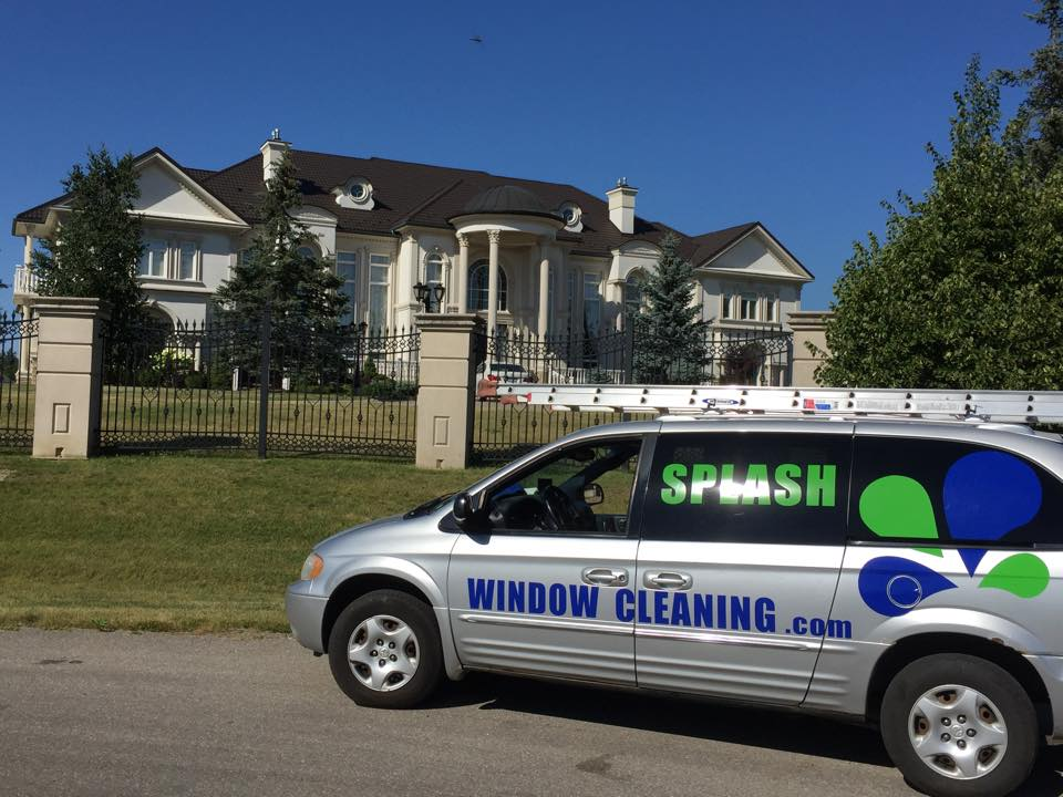Splash Window Cleaning Van