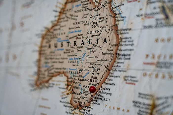 Australia is legal cannabis medical map